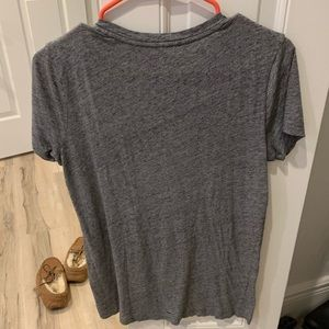 Madewell Tops - Madewell loose fitting grey v neck - XXS